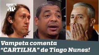 """""""É só tomar DOIS CACETES que cai tudo!"""", dispara Vampeta sobre NORMAS de Tiago Nunes!"""