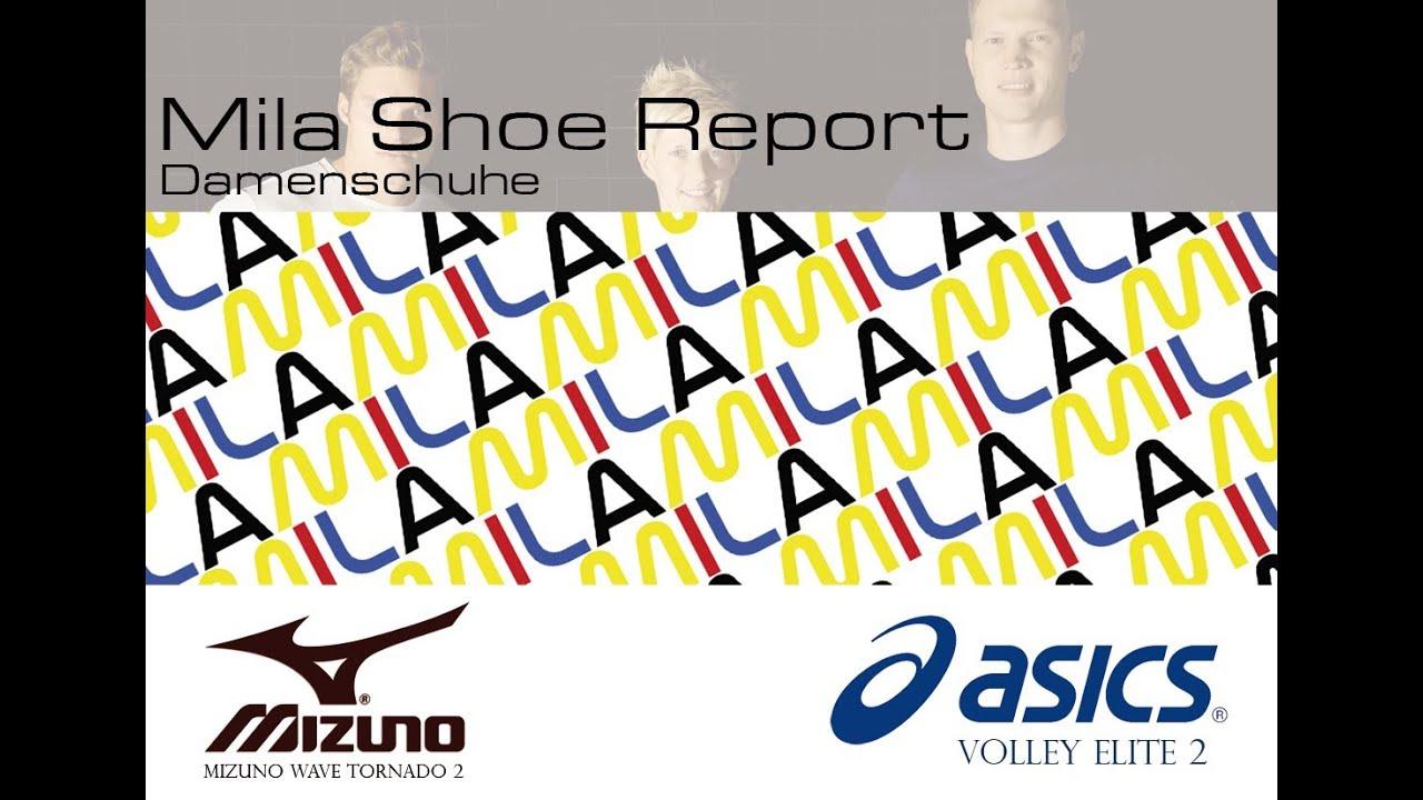 super popular a5815 ab674 Mila Shoe Report Damenschuhe: Mizuno Lightning RX 2 und Asics Gel Volley  Elite 2