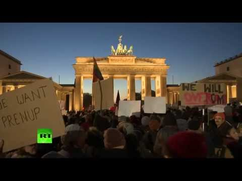 Des centaines de manifestants anti-Trump protestent à Berlin (Direct du 12.11)