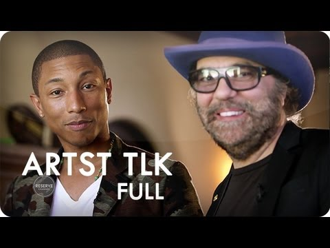 Daniel Lanois & Pharrell Williams at Home in the Studio | ARTST TLK™ Ep. 7 Full | Reserve Channel