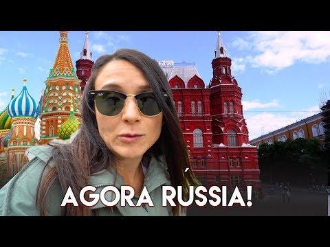PRIMEIRO DIA EM MOSCOU NA RÚSSIA |  VIAGEM Travel and Share