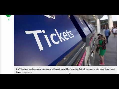 uk news,Brits pay sky-high rail fares to keep European services cheap, claims union