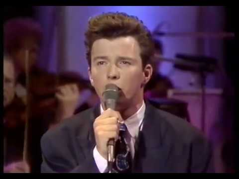 "Rick Astley - ""When I Fall in Love"" - Wogan (1987)"