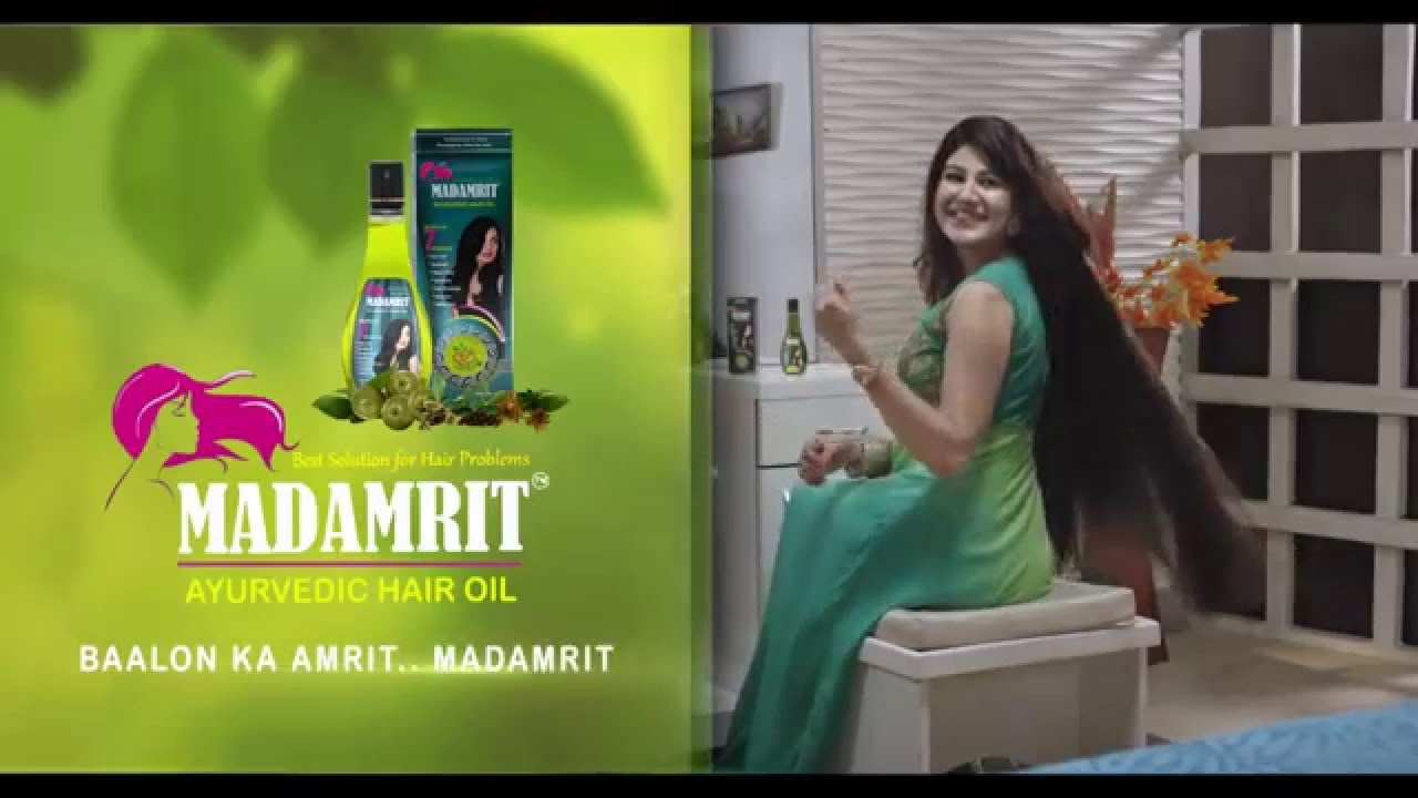 Madamrit Hair Oil Commercial1 Youtube