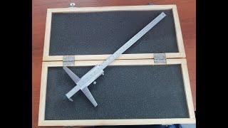 Обзор. Полезный измерительный инструмент для работы с листовым материалом.