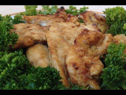 Куриные грудки в сливочно-чесночном соусе - кулинарный рецепт