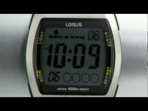 Lorus R2335ex9 Mens Watch Youtube