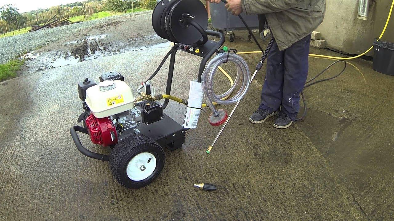 how to set upa hose reel