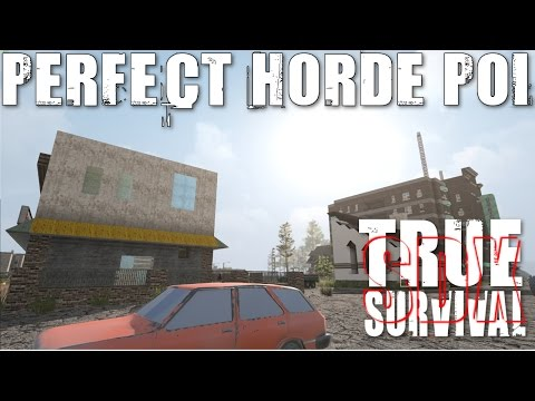 7 Days To Die:True Survival |SDX| 7 Day Horde Prep