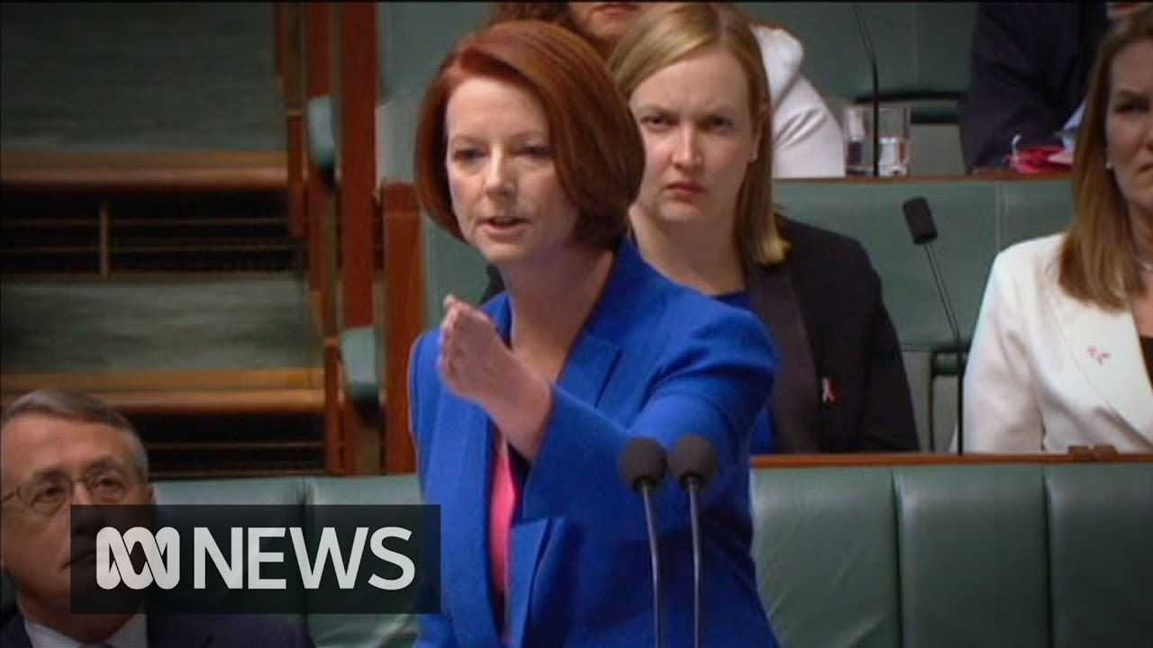 Julia Gillard's 'misogyny speech' in full | ABC News