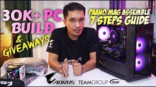 Php 30K+ PC BUILD: Paano mag Build ng Editing/Gaming PC ft Gigabyte GTX 1650 Super & Tforce Vulkan Z