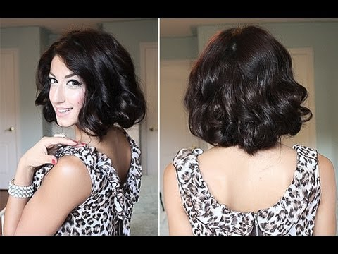 How To Glamorous Faux Curly Bob Luxy Hair