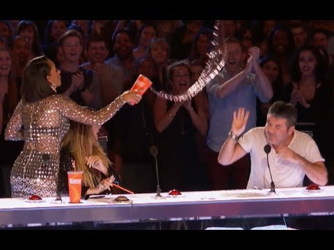 Don't Mess With Mel B, Simon!  Week 5  America's Got Talent 2017