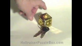 Hellraiser Puzzle Box Key Chain Lament Cube Update