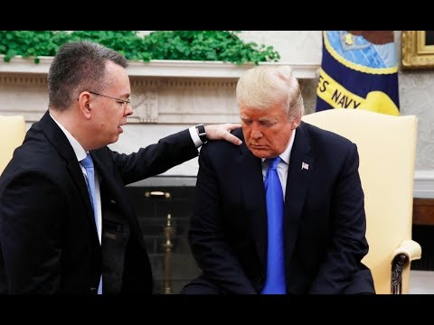 Trump meets with U.S. pastor freed by Turkey