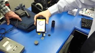 Smartphone Geiger and Cobalt60 + Cesium137