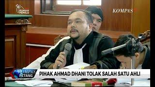 Sidang Lanjutan Ahmad Dhani, Pihak Dhani Tolak 1 Saksi Ahli