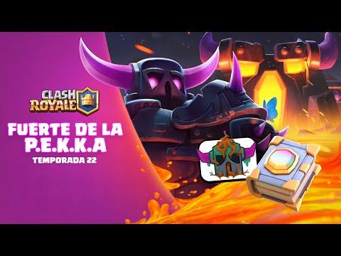 Clash Royale: 🔥 FUERTE DE LA P.E.K.K.A. 🔥 ¡Nueva Temporada! ¡Desbloquea Los Objetos Mágicos!