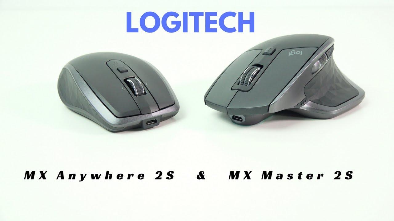 Logitech MX Master 2S & Anywhere 2: Best got Better