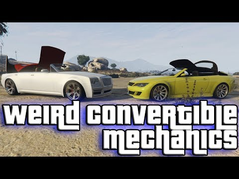 Weird Convertible Mechanics (GTA V)