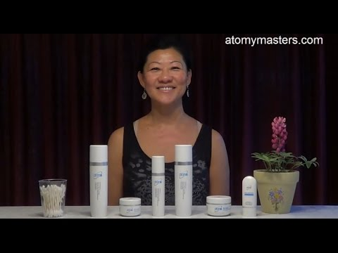 Atomy Morning 6 Skin Care System demonstration