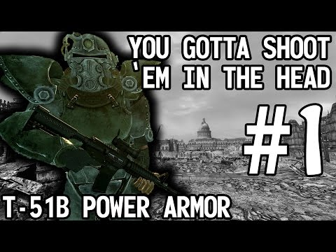 Fallout 3 - You Gotta Shoot 'Em In The Head part 1of2 (gameplay)