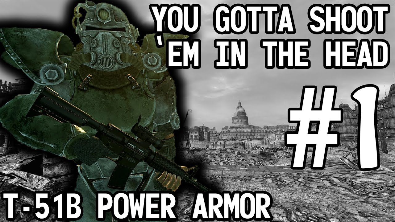 Fallout 3 - You Gotta Shoot 'Em In The Head part 1of2 ...