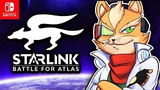 STAR FOX ON THE NINTENDO SWITCH! | Starlink: Battle for Atlas (Star Fox Co-op Missions)