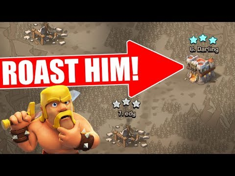 Thumbnail: CAN WE ROAST THEM ALL!? - Clash Of Clans - IM SORRY FOR MY FAIL :(