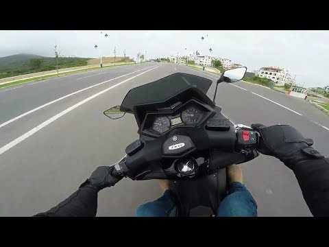 10000 subscribers special:  2016 Yamaha Tmax 530 test ride
