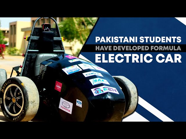 Pakistani Students Have Developed Formula Electric Car