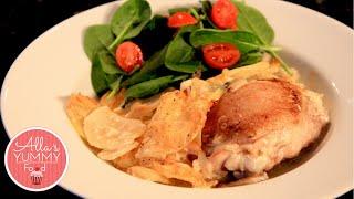 Chicken & Potato Casserole - Chicken Recipes - Запеканка из курицы с картофелем