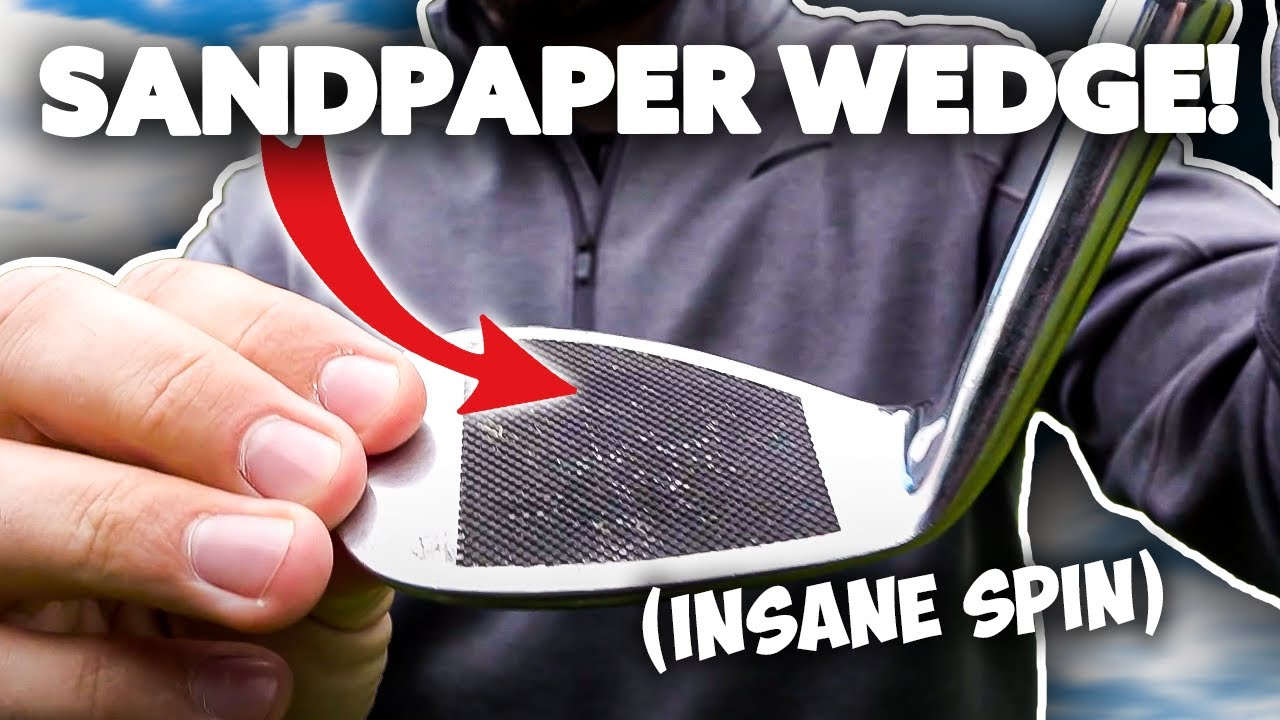 ILLEGAL Sandpaper 68º Golf Wedge | EXTREME backspin