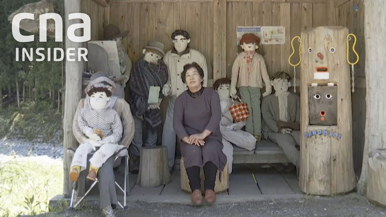 Japan S Population Crisis Seen In Village Of Dolls But No