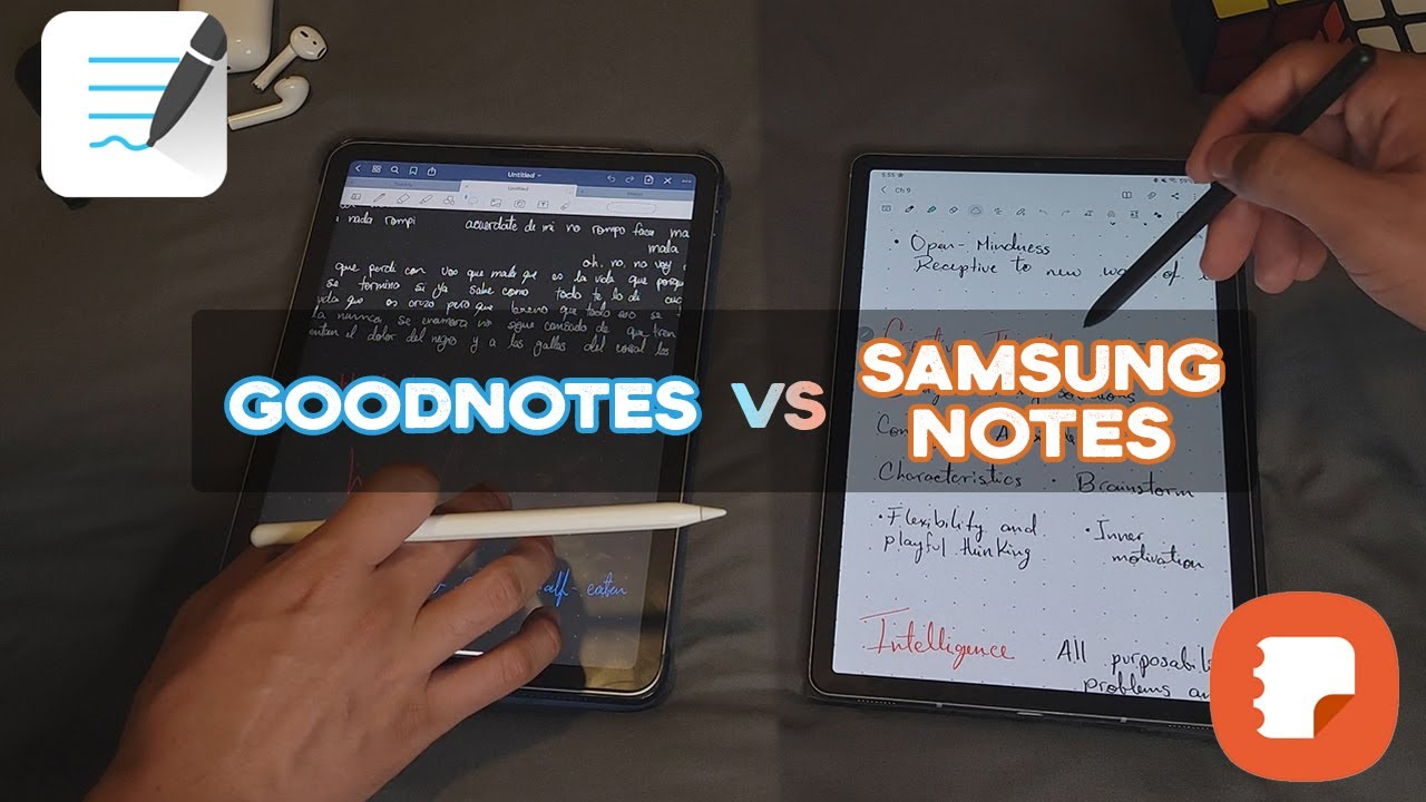 Which is the best note taking app? | Goodnotes5 vs Samsung Notes