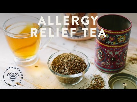 Allergy Relief Tea - Honeysuckle