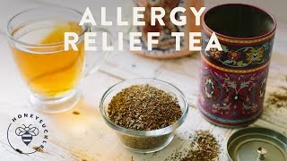 Allergy Relief Tea - Honeysuckle