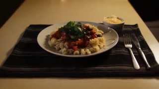 Puttanesca Pasta  With Tomato & Basil Pasta Sauce