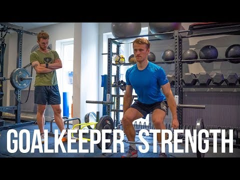 Strength Workout For Goalkeepers (Gym Session) | Keeping Goals S2Ep37