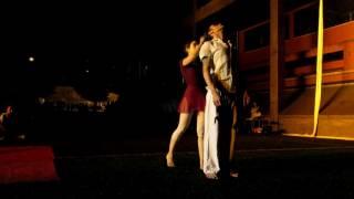 Dueto de Dança aérea  - Mr. Milk