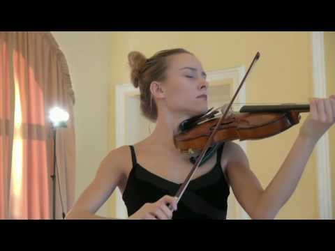 14. Anna Egholm (Denmark), 5th International Jascha Heifetz competition, Vilnius