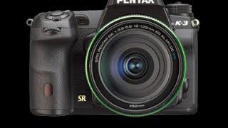Pentax K-3 Initial Settings