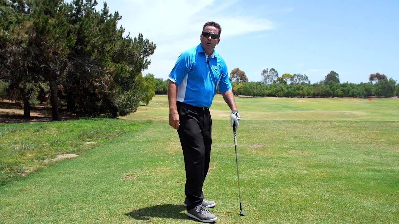 Hip Turn and Knee Flex Golf Swing