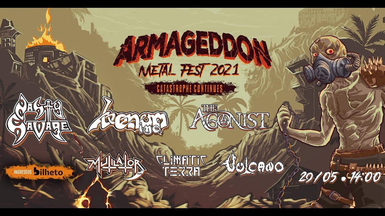 LIVE | Produtores do ARMAGEDDON METAL FEST.