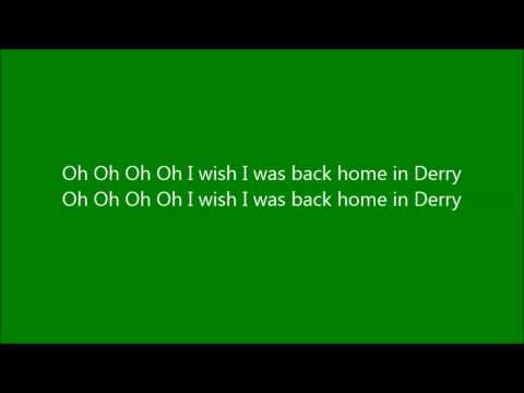 Back Home In Derry with lyrics