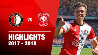 Samenvatting | Feyenoord - FC Twente 2017-2018