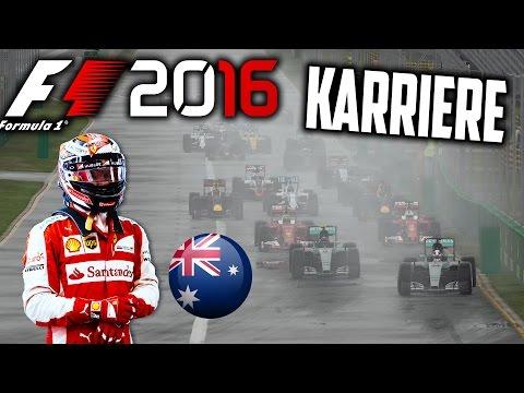 F1 2016 KARRIERE PART 1: KOMPLETTES WOCHENENDE IN AUSTRALIEN! [Deutsch/German]