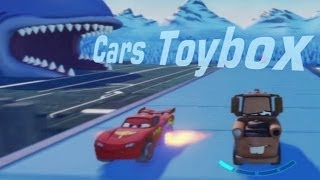 Cars Alive ! Disney Infinity Cars Toybox  Gameplay