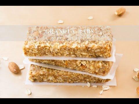 Granola Bars with Date Caramel | Vegan, Gluten-Free