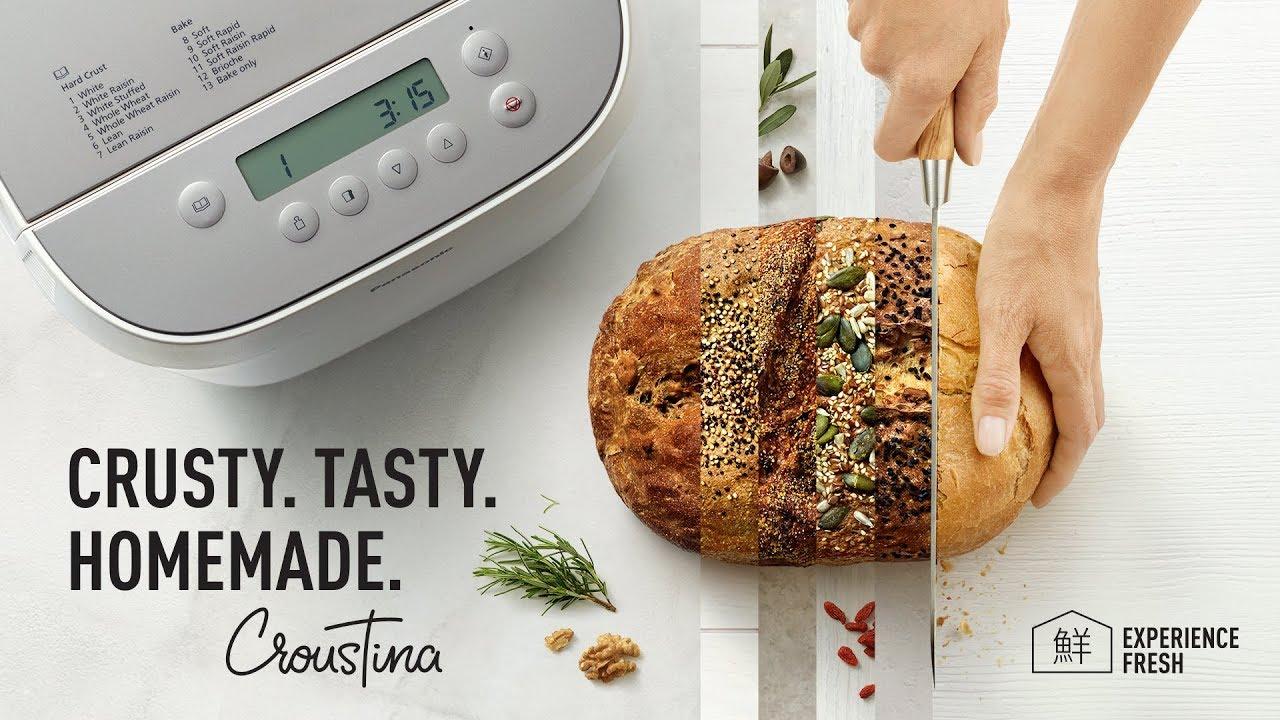 Panasonic Breadmaker Croustina Sd Zp2000 Crusty Tasty Homemade